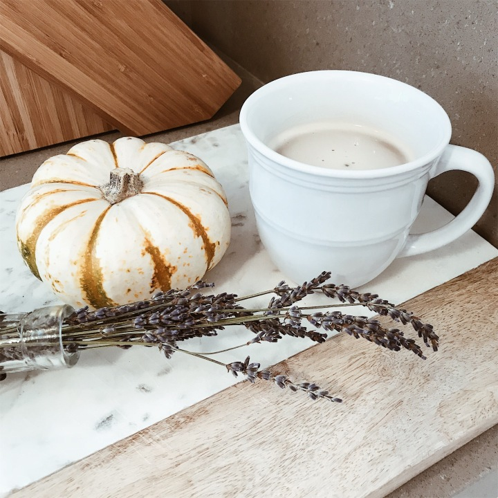 Pumpkin Spice Chai Latte! Hot Or Iced